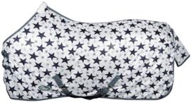 Harry's Horse Vliegendeken mesh standaard met singels, white