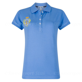 La Valencio polo Jacque blue, mt. 140