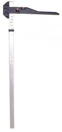 Meetstok aluminium 180cm