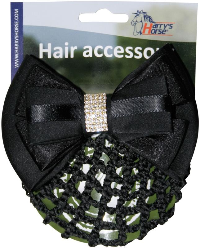 Harry's Horse Haarclip, Zwart-Strass