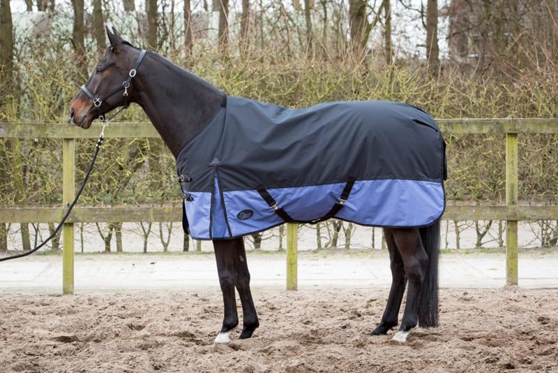 Harry's Horse Deken Thor 200gr 2Tone Black Marlin