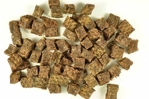 TamRo® Eend gedroogde vleesblokjes - 500g in zakje
