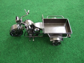 Motor, model met laadbak (metaalkleur)