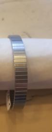 Flexibele armband zilver 554 maat XXL
