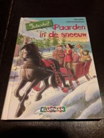 Bleshof serie- paarden in de sneeuw