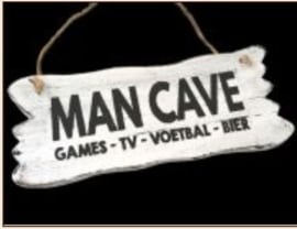 Man Cave  - games - tv - voetbal - bier