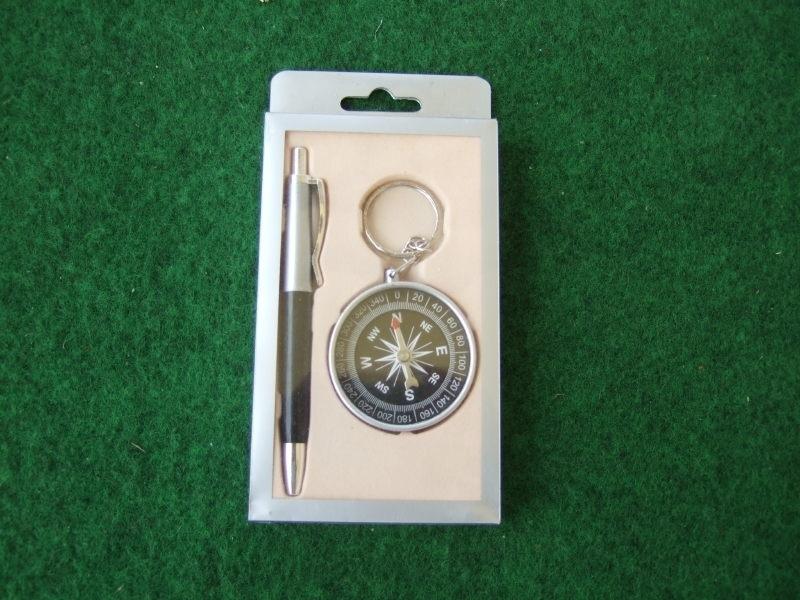 Kompas met balpen
