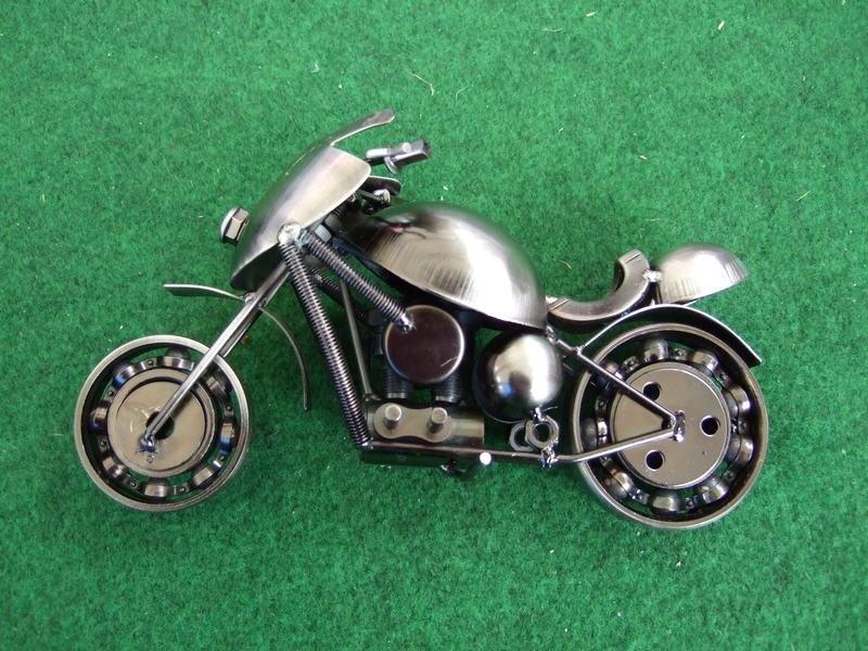 Motor, model racer (metaalkleur)