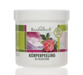 Kräuterhof® ®body scrub WILDROSENÖL 400g en Kräuterhof® body cream -WILDROSENÖL 250ml