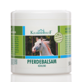 LET OP 3 POTTEN!!!2x Kräuterhof® originele Duitse  verwarmende paardenbalsem voor mensen 500ml  1x  Kräuterhof® verkoelende paardenbalsem voor mensen