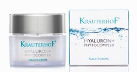 Kräuterhof® gezicht hyaluron + phytocomplex nachtcrème