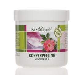 Kräuterhof® ®body scrub  WILDROSENÖL 400g