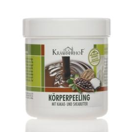 Kräuterhof® ®body scrub KAKAO- & SHEABUTTER 400g en Kräuterhof® body cream - CACAO & Shea Butter 250ml