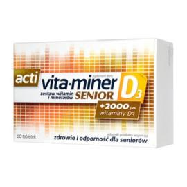 Vitamine D3 voor  50 plussers
