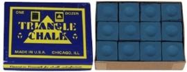 Blauw krijt doosje 12 stuks, Master of Triangle