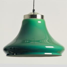 Gebruikte lampen kleur groen (doorschijnend), klokmodel, 3 stuks in 1 koop VERKOCHT!!!!