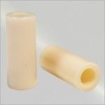 Pomeransvormer, wit, plastic of teflon