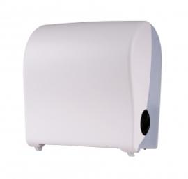 14160 - Handdoekroldispenser kunststof wit mini