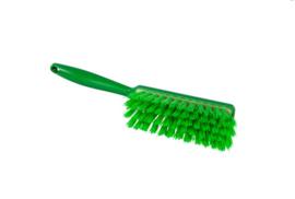 100151009-5 - Polyester handveger vezels in hars gegoten kleurcode HACCP 340 mm x 35 mm medium groen 90252