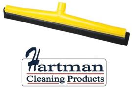 43812111-4 - FBK HCS Vloertrekker met zwart vervangings- rubber 500 mm geel 28506