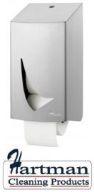 4310 - 2 Toiletrolshouder (kokerloos) Wings