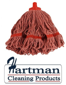 920136 - SYR mop, midi kleurgaren , diameter 43 cm Rood