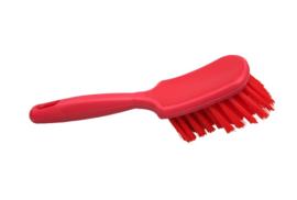 31430115-3 - FBK Handborstel polyester kleurcode HACCP hoogwaardig medium vezel 275 x 75 mmrood 50144