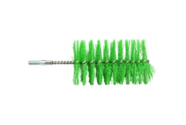 37420125-5 - FBK HCS hoogwaardige kleurcode HACCP hygiënische Polyester pijpborstel met schroefdraad ø 60 x 100 x 160 mm groen 10776