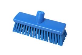 215161011-2 - Inwasborstel waterdoorlatend FBK hoogwaardige kleurcode HACCP FBK hygiënische polyester 250 x 60 mm gespleten vezel zacht blauw 22155