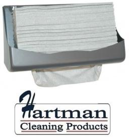 353161 - M-Wipe grijze doek in Euro pack met 650 vellen. Afmeting vel 42 x 35 cm EURO products