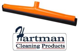 43812111-7 - FBK HCS Vloertrekker met zwart vervangings- rubber 500 mm oranje 28506