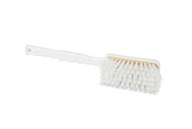 101151008-1 - Polyester FBK handveger vezels in hars gegoten kleurcode HACCP 410 mm x 55 mm medium wit 90233