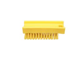 30030136-4 - FBK Nagelborstel hoogwaardig polyester kleurcode HACCP 110 x 45 mm medium vezelgeel 15060