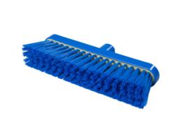 718151003 - Polyester FBK bezem vezels in hars gegoten kleurcode HACCP 280 mm x 48 mm zacht blauw 93147