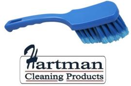 61630110-2 - FBK Handborstel hoogwaardig zacht, gespleten vezel, 275 x 70 mm, blauw 10547
