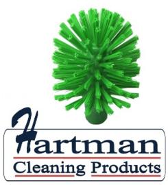 42420106-5 - Hoogwaardige FBK kleurcode HACCP hygiënische kunststof medium wormhuisborstel Ø 120 mm groen 27153