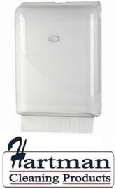 431101 - Europroducts vouwhanddoekdispenser Pearl White