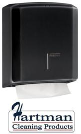12925 - Vouwhanddoekdispenser zwart, DT2106B
