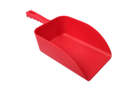 21390104-3 - FBK Handschep hoogwaardige kleurcode HACCP hygiënische polypropyleen 160 x 230 x 360 mm rood