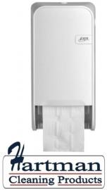 441001 - Quartz-Line Doprol Toiletpapier Dispenser ( Mat Wit) EURO Products