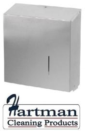 S3400224 - Sanfer jumbo toiletpapierdispenser RVS