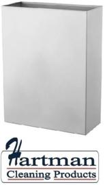 3815 - Afvalbak 25 liter open RVS, CLB25L-CS – Dutch Bins