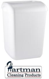 5642 - Afvalbak kunststof 55 liter half open, PQA55  PlastiQline