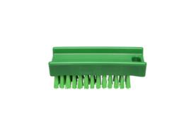 30030136-5 - FBK Nagelborstel hoogwaardig polyester kleurcode HACCP 110 x 45 mm medium vezel, groen 15060