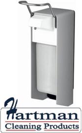 8000 - Zeep- & desinfectiemiddeldispenser aluminium 500 ml KB, MQ05A - MEDICO-LINE