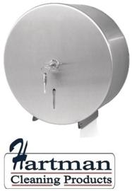 GJ031 - Jantex RVS jumbo toiletroldispenser