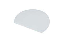 62480117 - Hoogwaardige kleurcode HACCP hygiënische deegschraper 160 x 125 mm, wit