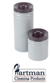 541005 - Safety vlamdover afvalbak grijs 50 liter