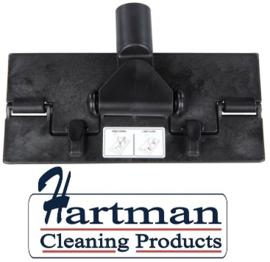 80070101-6 - Vloerpadhouder FBK  hoogwaardige kleurcode HACCP hygiënische kunststof vloerpadhouder 230 x 100 mm zwart 2701