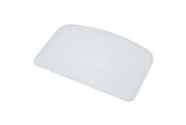 61680116 - Hoogwaardige kleurcode HACCP hygiënische deegschraper 146 x 98 mm, wit